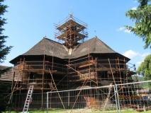 Galerie v průběhu obnovy/Renovation progress