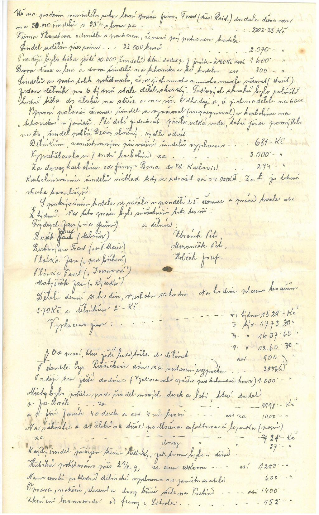 Listiny z věže 1